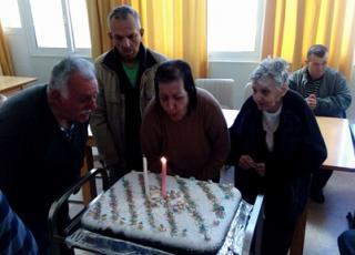 Εορτασμός γενεθλίων στο Κ.Κ.Π.Π.Β.Α.